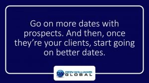 Go on More Dates with Prospects